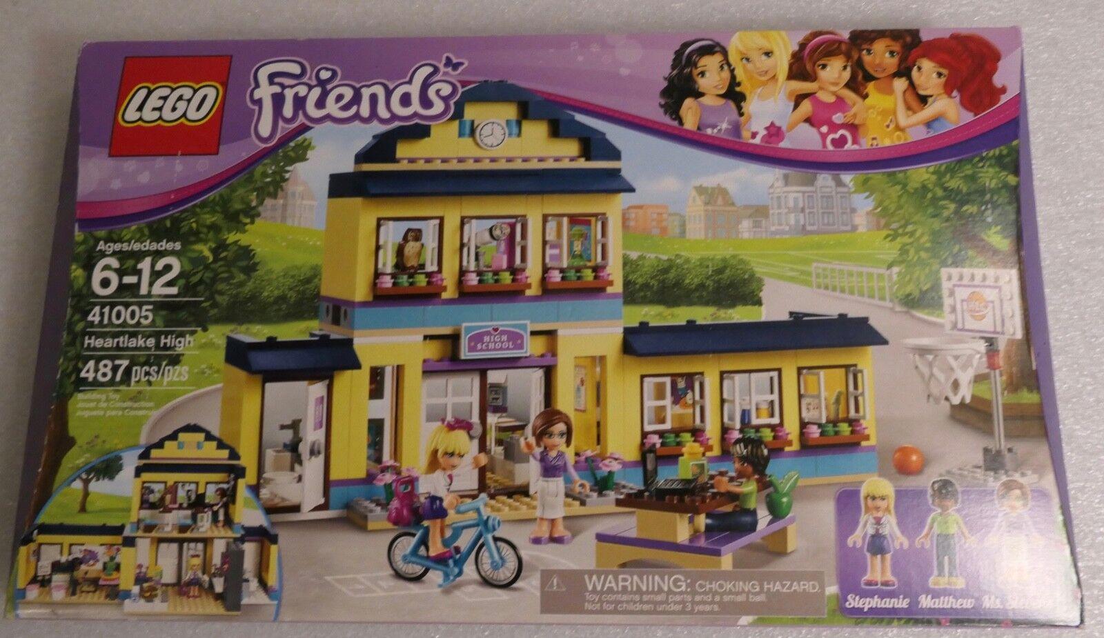 Lego Friends 41005 Heartlake High Oqhdbn6529 Lego Complete Sets