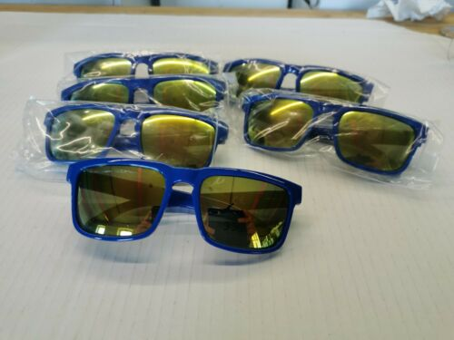 6 x PAIRS OF FOSTERS LAGER GOOD CALL AMBER TINTED SUNGLASSES UV400 NEW