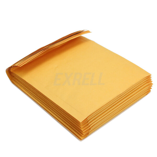10 Pcs Yellow Kraft Bubble Padded Shipping Envelopes Mailers Bags 140x160+40mm