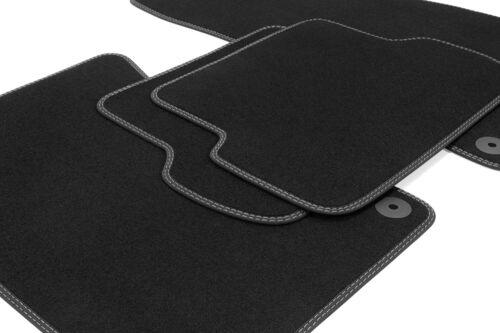 Premium Doppelziernaht Fußmatten für Hyundai i30 Typ GD Bj 2011-2016