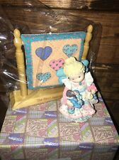 Angel of Mothers Figurine & Quilt Hannah Heart Patterns of Life Enesco