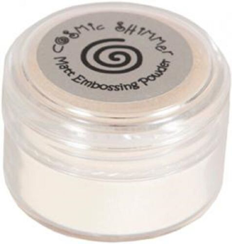 Cosmic Shimmer Embossing Powder by Creative Expressions MATT /& STICKY  NEW