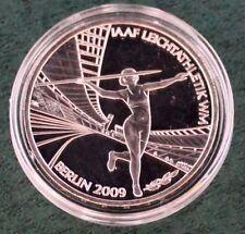 BRD 10 Euro 2009 J Stempelglanz  Leichtathletik IAAF WM Silber   r984