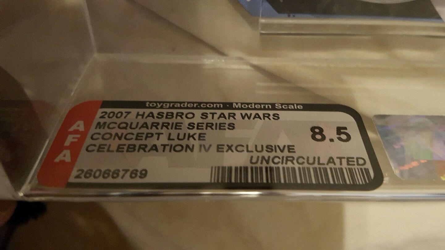 Star Wars Luke Skywalker Mcquarrie concept concept concept  celebration Exclusive Iv Afa 8.5u ae44fa
