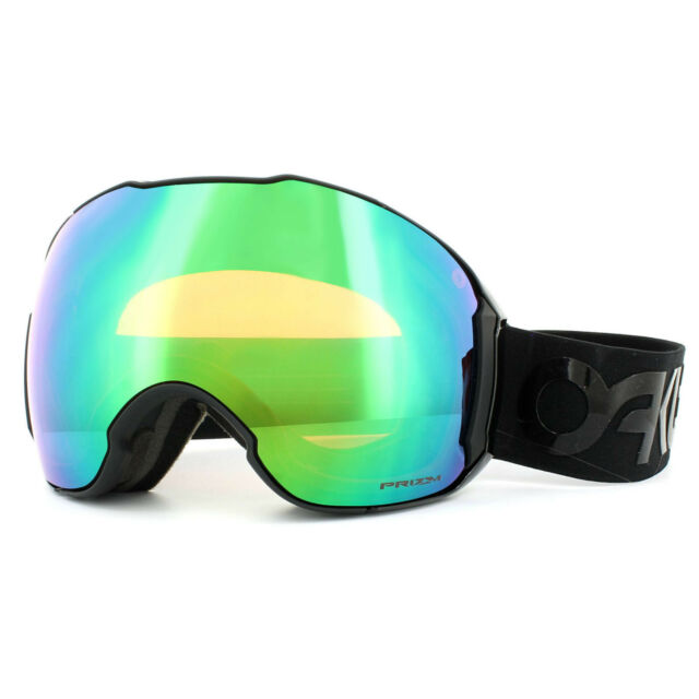 16e1ec7a789 Oakley Ski Goggles Airbrake XL OO7071-03 Factory Blackout Prizm Jade Prizm  Rose