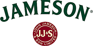 Jameson Irish Whiskey Sticker for skateboard luggage laptop tumblers car