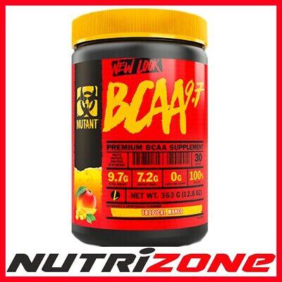 Herzhaft Mutant Bcaa 9.7 New Formula Amino Acid Intra Workout 30serv 0 Calories Waren Jeder Beschreibung Sind VerfüGbar