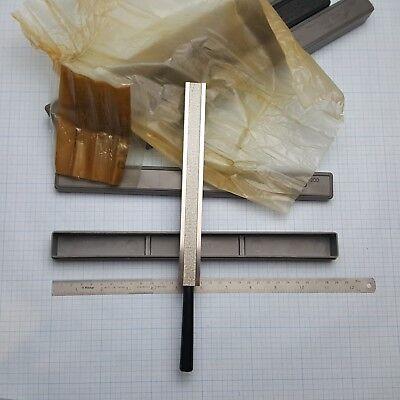 "7.87/"" USSR Grade 1 *In EU* Precision 4-Sided Machinist Straight Edge 200mm"