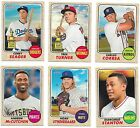 2017 Topps Heritage Short Print SP Lot 401-500 - You Pick From List