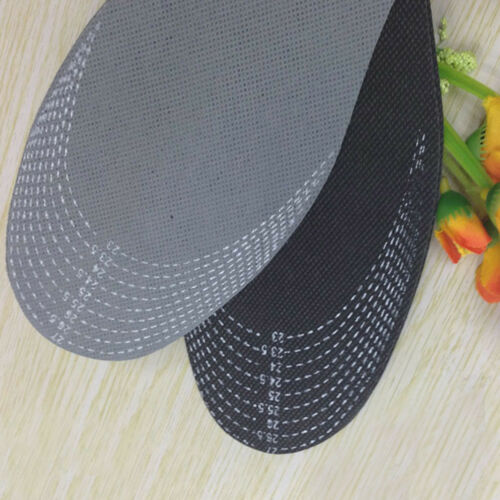 New Healthy Bamboo Charcoal Deodorant Cushion Foot Inserts Shoe Pads Insoles