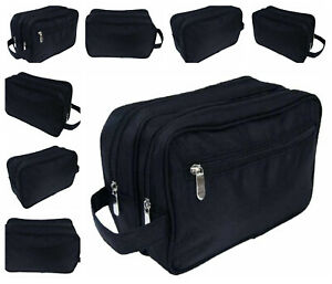 Quality Large Wash Bag Mens Toiletries Toiletry Travel  Toilet  Nice Gift