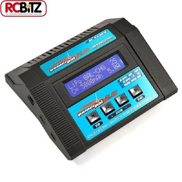 Etronix PowerPal 2.0 AC DC Caricatore equilibrio prestazioni SCARICATORE 80w ET0201 RC
