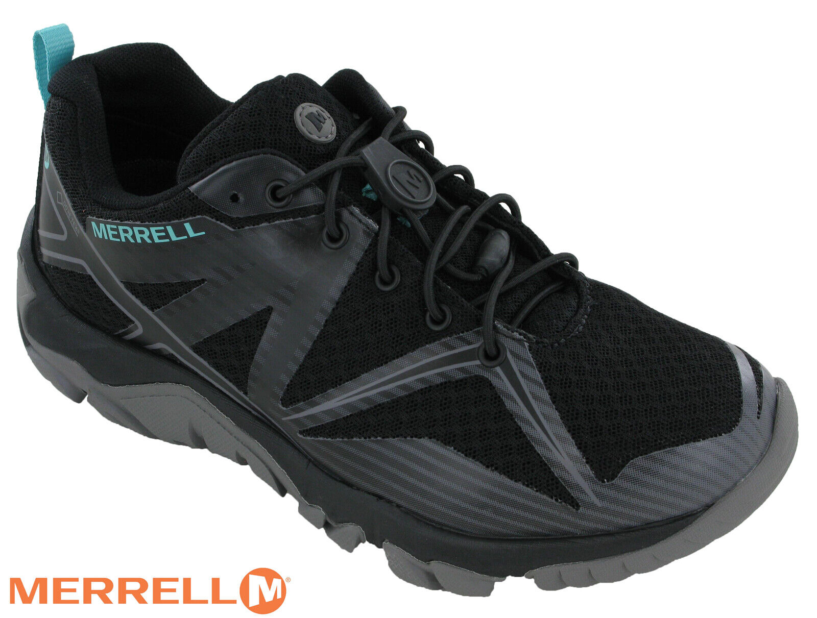 Merrell MQM Edge Stretch Gore Tex  Lace donna Trainers Lightweight Walking scarpe  conveniente