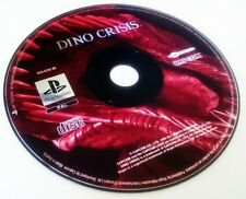 DINO CRISIS | Sony PlayStation 1 PS1 PS (SOLO DISCO One)