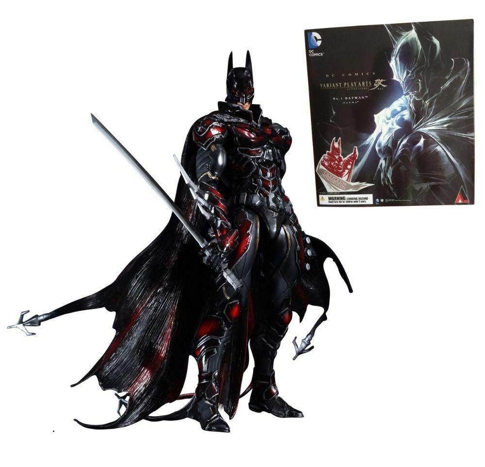 Begrenzte Farbe version variante spielen kunst kai no.1 batman dc comics action - figur