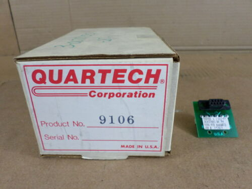Quartech Corp 9106 PCB Assembly Network Link Adapter