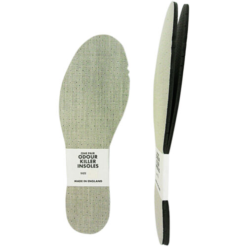 SIZE 7 NEW. MENS LADIES THIN ODOUR KILLER EATER PERFORATED  INSOLES