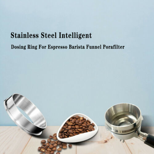 Details about  /51mm Coffee Dosing   Espresso Powder Dosing Funnel Practical Barista Tool
