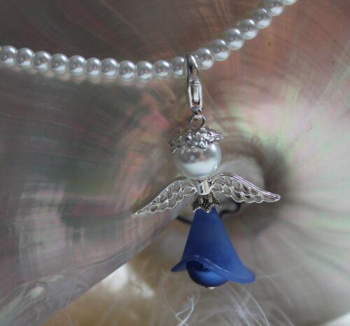 Bastelset 5-50 1 anges fleurs Elfe Calla 6 cm porte-bonheur Mariage Baptême À faire soi-même