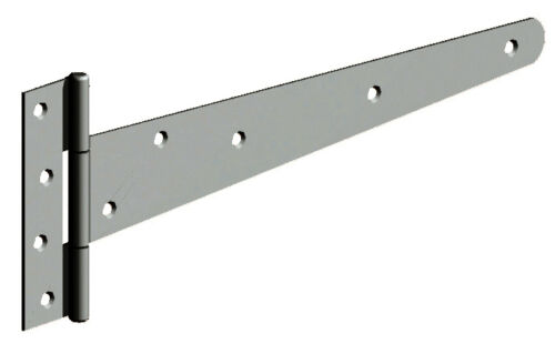 Various Sizes /& Colours Gatemate Pair of Light Gate Tee Hinges T Hinge