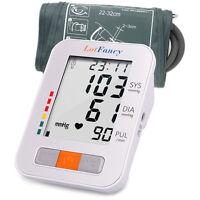 Talking Auto Digital Arm Blood Pressure Monitor Large M Cuff Bp Machine Device