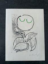 Pierre ALECHINSKY (Né en 1927)  - Eau-forte et aquatinte originale