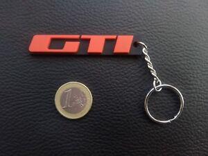 PORTE-CLE-MONOGRAMME-GTI-PEUGEOT-205-309-NEUF-SILICONE-SOUPLE-CLEF-KEYRING