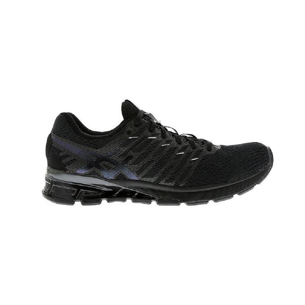 Mens ASICS GEL-VIZZ Black Running Trainers S60NQ 9090