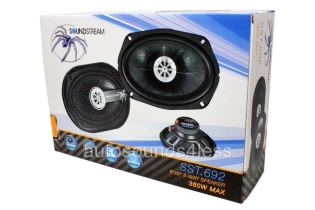 Soundstream SST.692 360W 6x9 SST Series 2-Way Coaxial Speaker