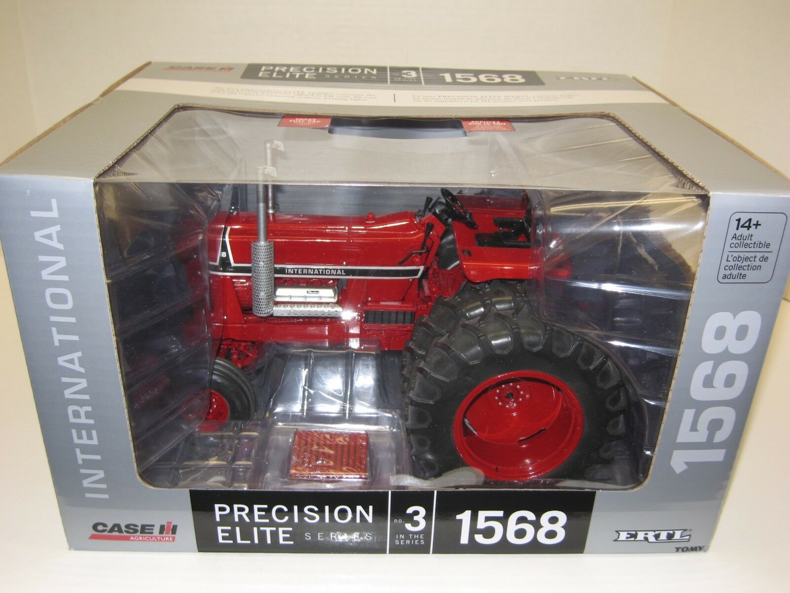 1 16 INTERNATIONAL 1568 V-8 PRECISION ELITE  3 w DUALS NIB gratuito shipping