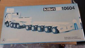 Kibri 10604, Mb Zugmaschine Avec Prismenroller, H0 Divers Styles