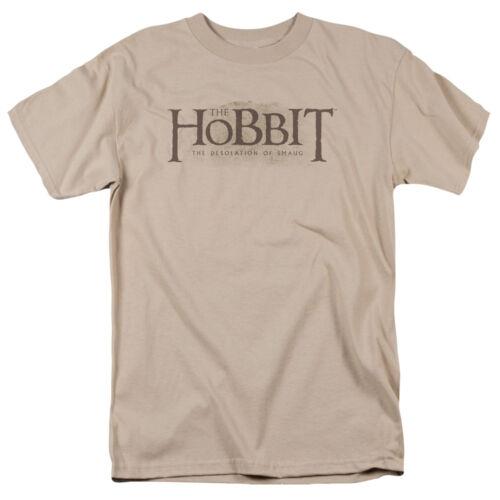 Hobbit Movie TEXTURED LOGO Licensed Adult T-Shirt All Sizes