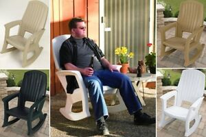 Outdoor Patio Rocking Chair Plastic Chairs Resin Rocker