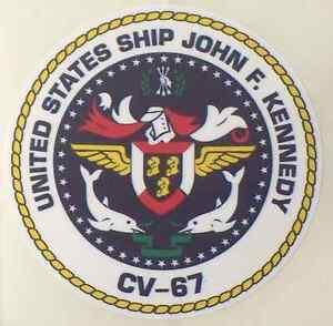 USS-JOHN-F-KENNEDY-CV-67-Decal-4-034-x-4-034-US-Navy