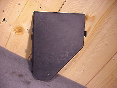 Saab 900 97 1997 Dash Fuse Panel Cover W Directory Black Ebay