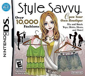 Style Savvy Nintendo Ds 2009 For Sale Online Ebay