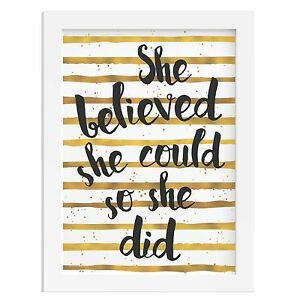 GOLD-FOIL-BLACK-SHE-BELIEVED-SHE-COULD-SO-SHE-DID-inspirational-gift-quote-woman