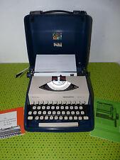 Machine à écrire portable Remington Envoy III + notice typewriter in case