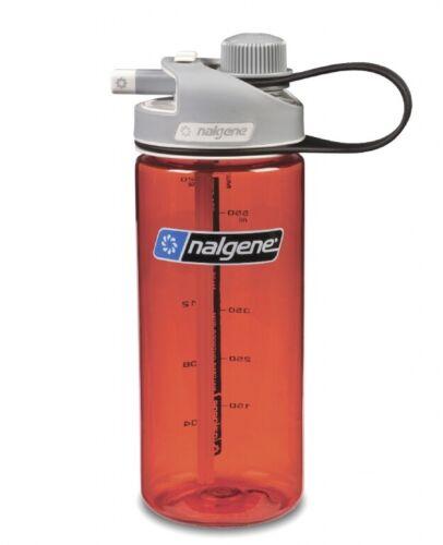 Nalgene Bouteille Multi Drink 0,6 L Rouge