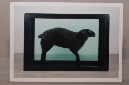 "NEW /""Black Sheep/"" limited Art-Postcard DAMIEN HIRST exhibition"