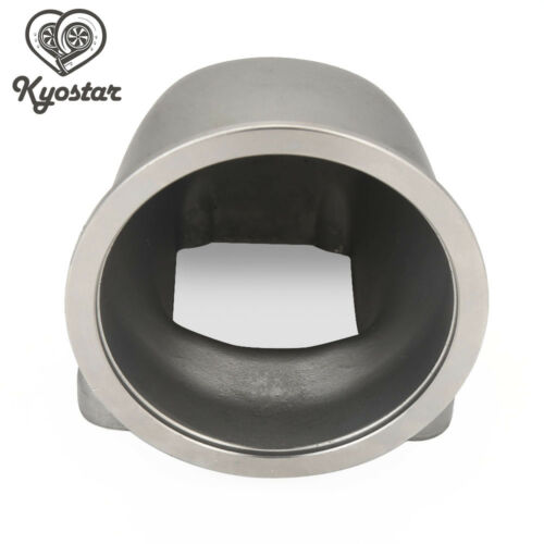 """3/"""" Stainless Steel Vband 90 Degree Elbow Adapter Flange Cast For T3 T4 Turbo New"""