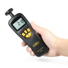 Handheld Digital Lcd Tachometer Tach Meter 19999rpm Measuring Tool R1h7