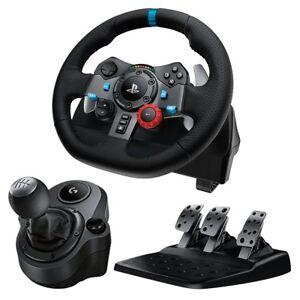 948b234d6af Logitech G29 Driving Force Race Wheel + Logitech G Driving Force ...