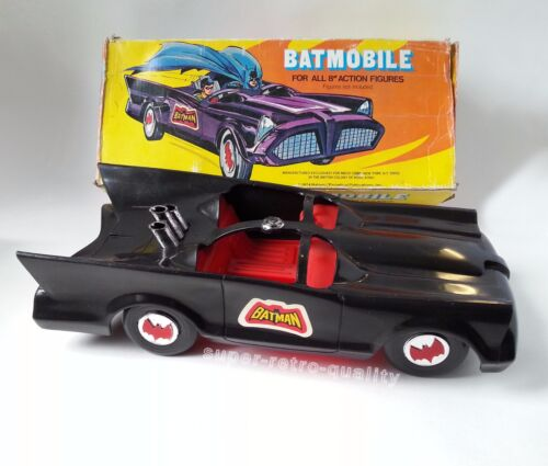 Batman Batman Mego avec boîte d'origine Mego 1970!