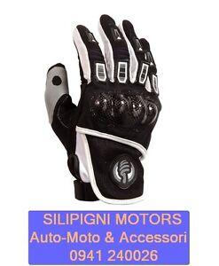 MOTO-ONE-FARA-M1GM1106-Nero-Bianco-Guanto-OFF-ROAD-Cross-Enduro-Moto