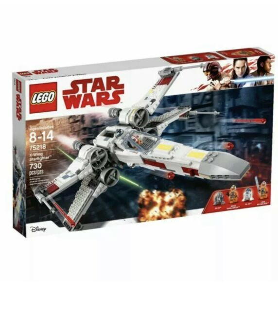 Lego 75218 Star Wars X-wing Starfighter Will Throw-in A Star wars Polybag Too!!