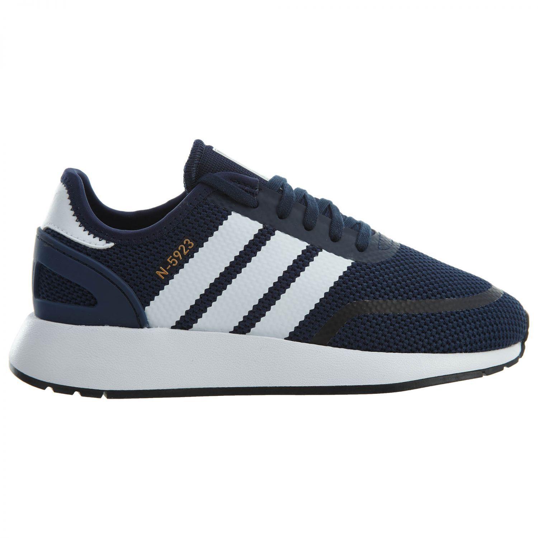 sports shoes 64f1d b3707 Adidas Adidas Adidas N-5923 Big Kids AC8543 Navy White Grey Mesh Athletic  Shoes Youth ...