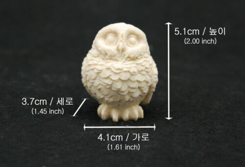 Silicone Mold Chocolate Polymer Clay Jewelry Soap Melting Wax Resin Owl L #3
