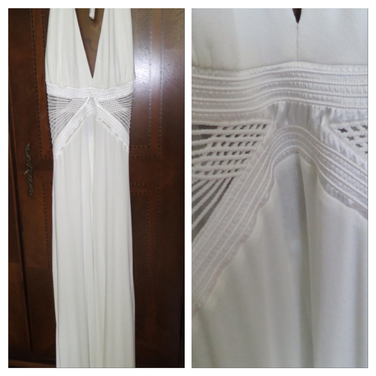 Neu mitRech. La Perla Sommerkleid Hochzeitskleid Viskose mit Spitze NP  Sexy