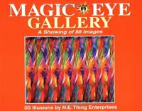 Magic Eye Gallery: A Showing Of 88 Images By Magic Eye Inc., (paperback), Andrew